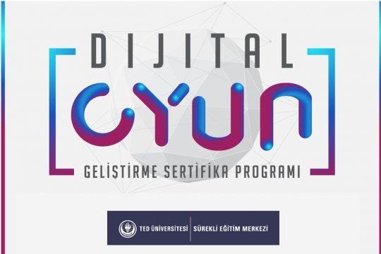 Dijital Oyun Geliştirme Sertifikası